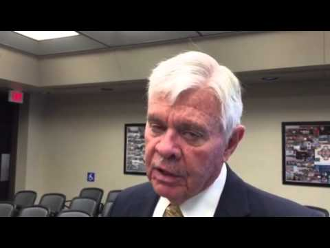 Tulsa County Sheriff Stanley Glanz addresses the upcoming review of the sheriff's office