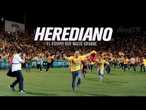 Herediano, el equipo que nació grande