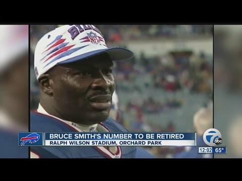 Bruce Smith to have his jersey retired