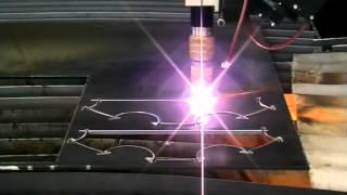 Установка 3D плазменной резки металла
