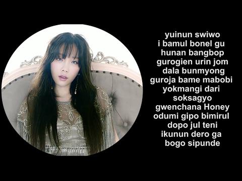 TAEYEON 태연 - I Got Love (Romanization/EASY LYRICS /letra Facil)