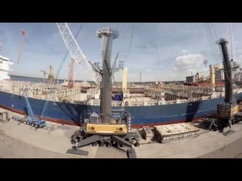 Liebherr Maritime Cranes - Ship Crane Retrofits
