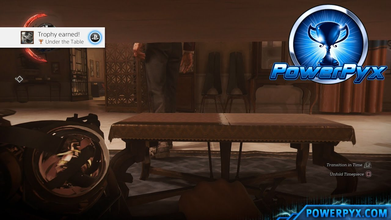 Dishonored 2 Under The Table Trophy Achievement Guide Stilton 39 S Master Key Location Youtube