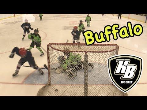 Kids HocKey -- Buffalo Vs HoneyBaked Hockey -- Nail Biter right to the End