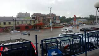 Потоп в Курске 20.06.2015