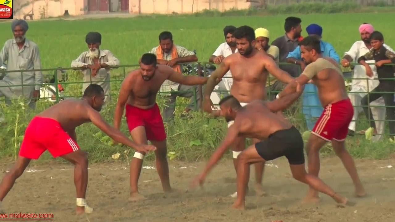 PATTI MULTANI (LUDHIANA) | MALSIAN SHAHKOT vs KISHANPUR  | KABADDI  - 2016 |  2nd QRT FINAL  | 2nd