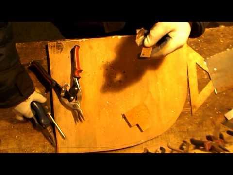 Изготовление простой мишени для пневматического оружия.