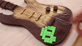 Video Games Live Chocolate Guitar | Making Every Genre Delicious