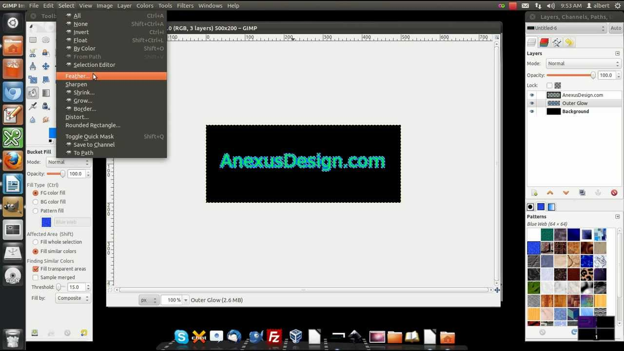 FREE Web Design Tools - Graphic Tools - GIMP with a short GIMP ...