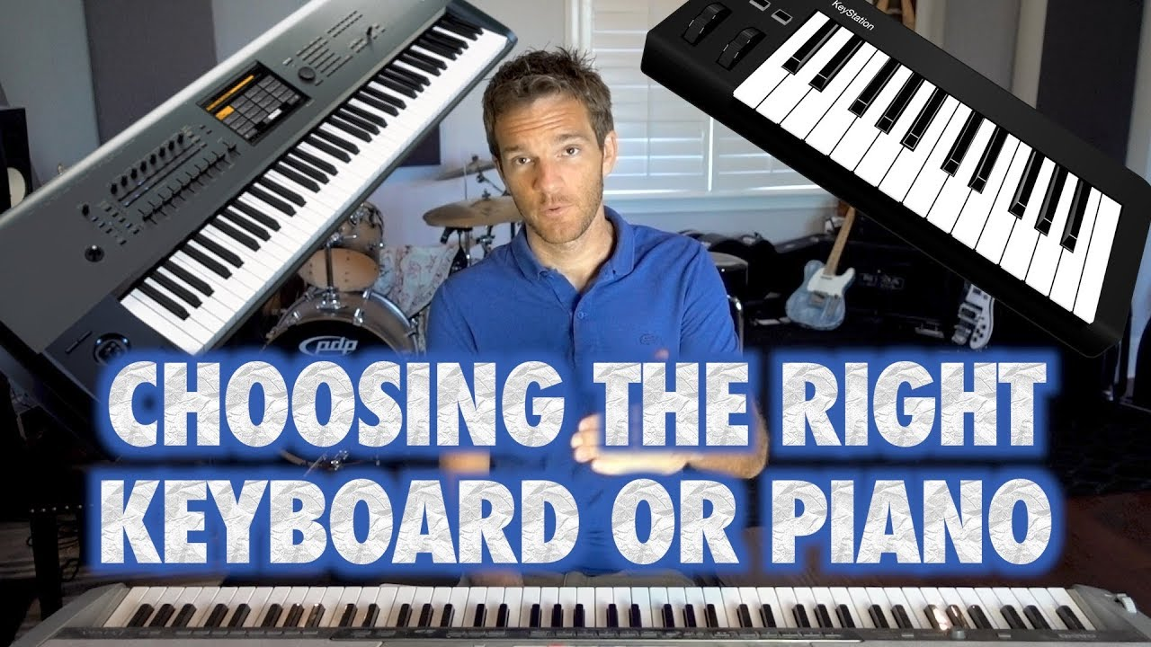 How To Pick The Right Digital Piano Or Keyboard Youtube
