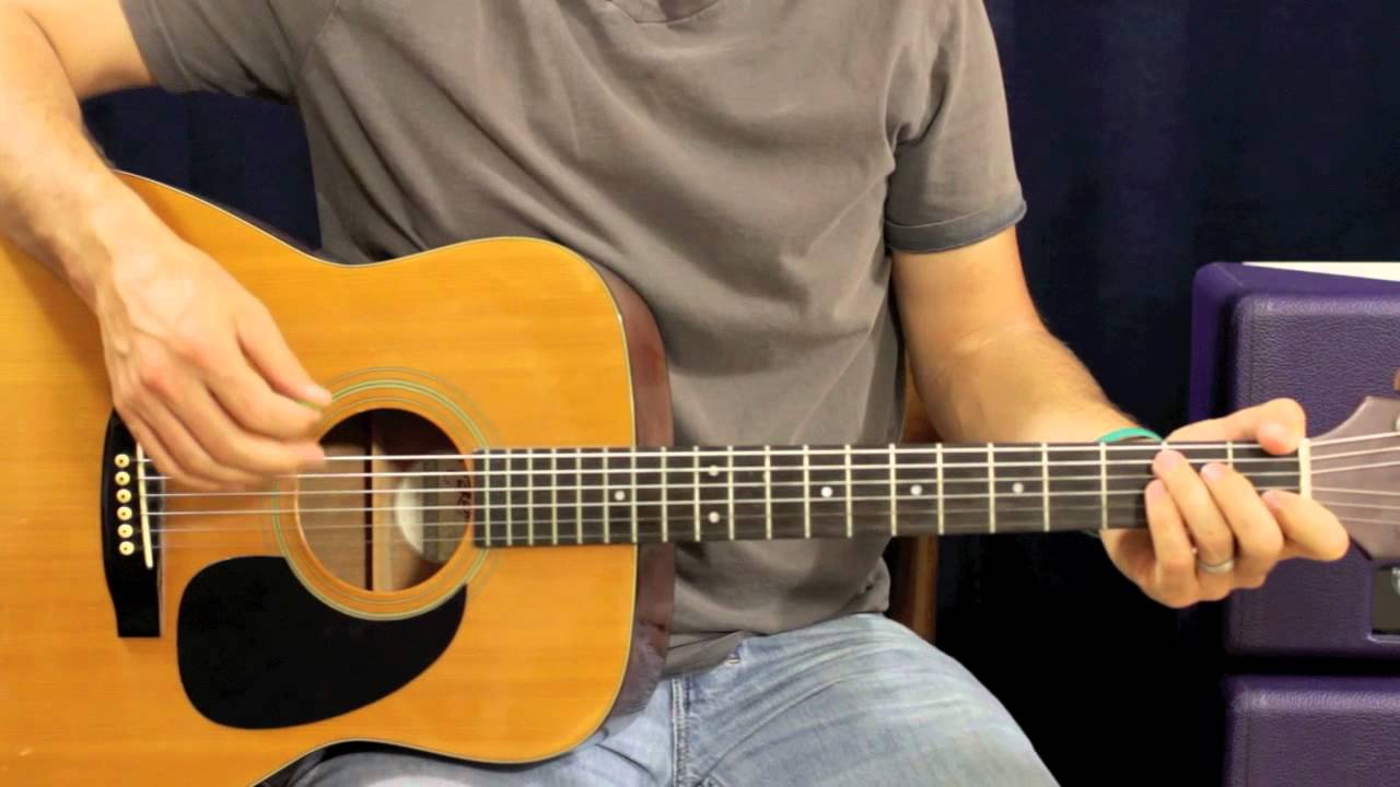 Fun Some Nights Easy Beginner Acoustic Guitar Lesson Youtube