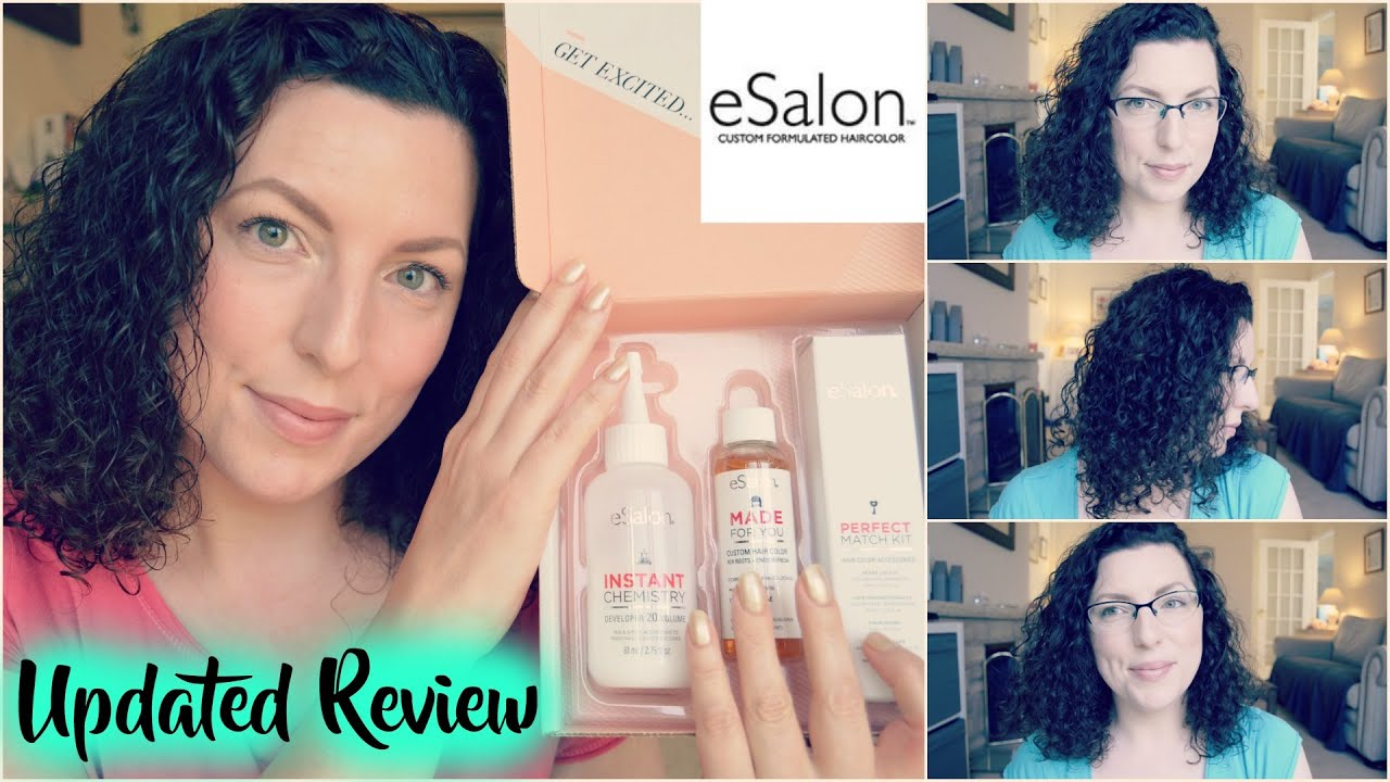 Updated Esalon Hair Color Review Haircare Wavykate Youtube