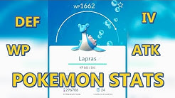 Pokemon Go Tipps und Tricks: Pokemon Stats / Werte: WP, CP, IV, ATK usw - Pokemon Go Deutsch German