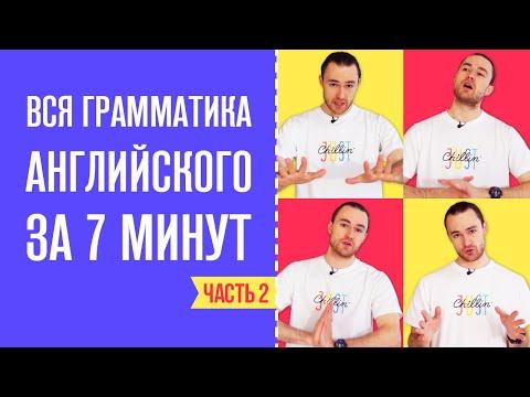 Вся Грамматика Английского Языка за 7 минут / Часть 2
