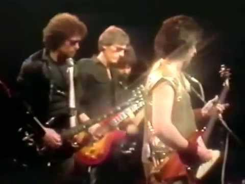 Blue Oyster Cult  Burnin for you  on TV 1981
