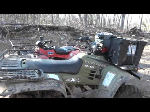 Polaris 500 Sportsman and Suzuki 250 Quadrunner in the line up!