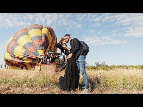 Awesome Hot Air Balloon Flight in Napa California