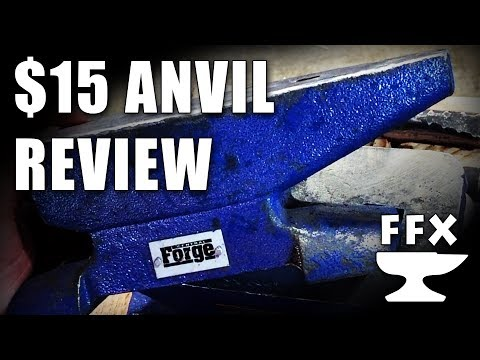 Review: $15 Harbor Freight Anvil - Five Stars or Flopping Failure?