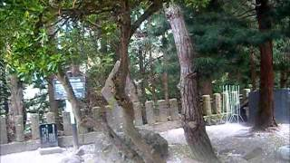 当研究所で制作された検証映像 福島県会津飯盛山白虎隊自刃の地 全体が...