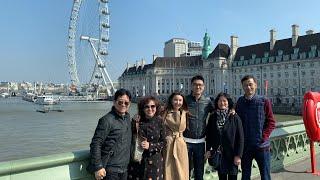 Weekly Vlog 007:Family London Vacation Part 1全家伦敦行 第一集