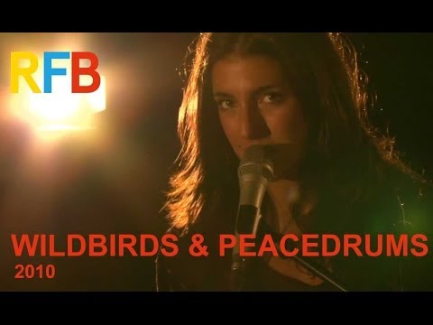 Wildbirds and Peacedrums | Live 2010