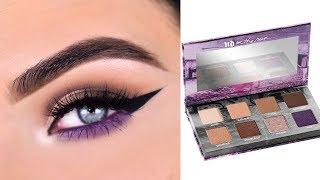Urban Decay BAILOUT On The Run Mini Eyeshadow Palette | Eye Makeup Tutorial