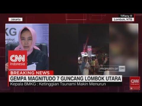 FULL- Kepala BMKG tentang Gempa & Potensi Tsunami di Lombok