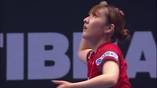 T2ダイヤモンド マレーシア 女子シングルス3位決定戦 丁寧vs加藤美優