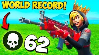 *WORLD RECORD* 62 KILLS IN ONE GAME!! - Fortnite Funny Fails and WTF Moments! #686
