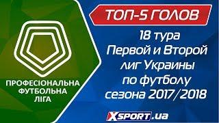Топ-5 голов 18 тура чемпионатов ПФЛ