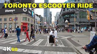 East Downtown \u0026 Yonge Street Toronto Sunday Escooter Ride (Sept 2021)