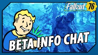FALLOUT 76 - BETA INFO Chat! Coming FIRST to XBOX One & Bethesda.net PC Exclusivity