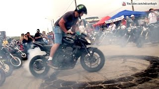 MotoLaguna 2014 Parte 1 - Superbikes Show Off, Burnouts & Revs! Bikers BR