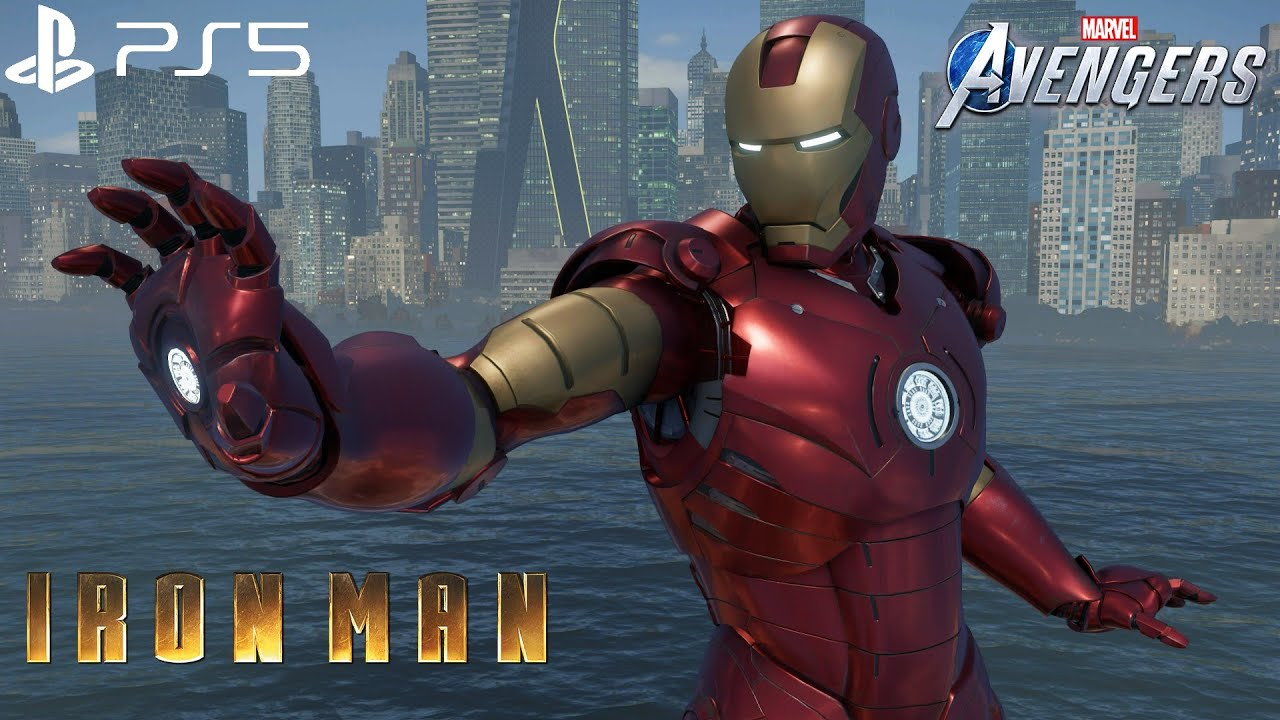 Download Marvel's Avengers - MCU Iron Man Mark 3 Suit Gameplay 4K 60FPS (PlayStation 5)