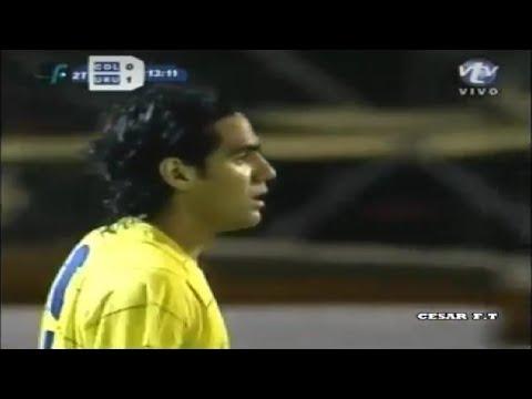 Debut de Radamel Falcao en la Selección Colombia 07/02/2007