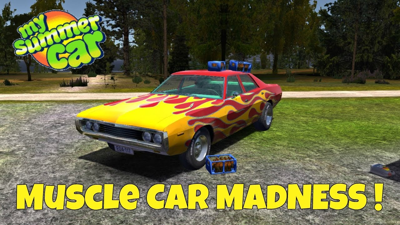 Muscle Car Madness My Summer Car Gameplay Ep 8 Youtube