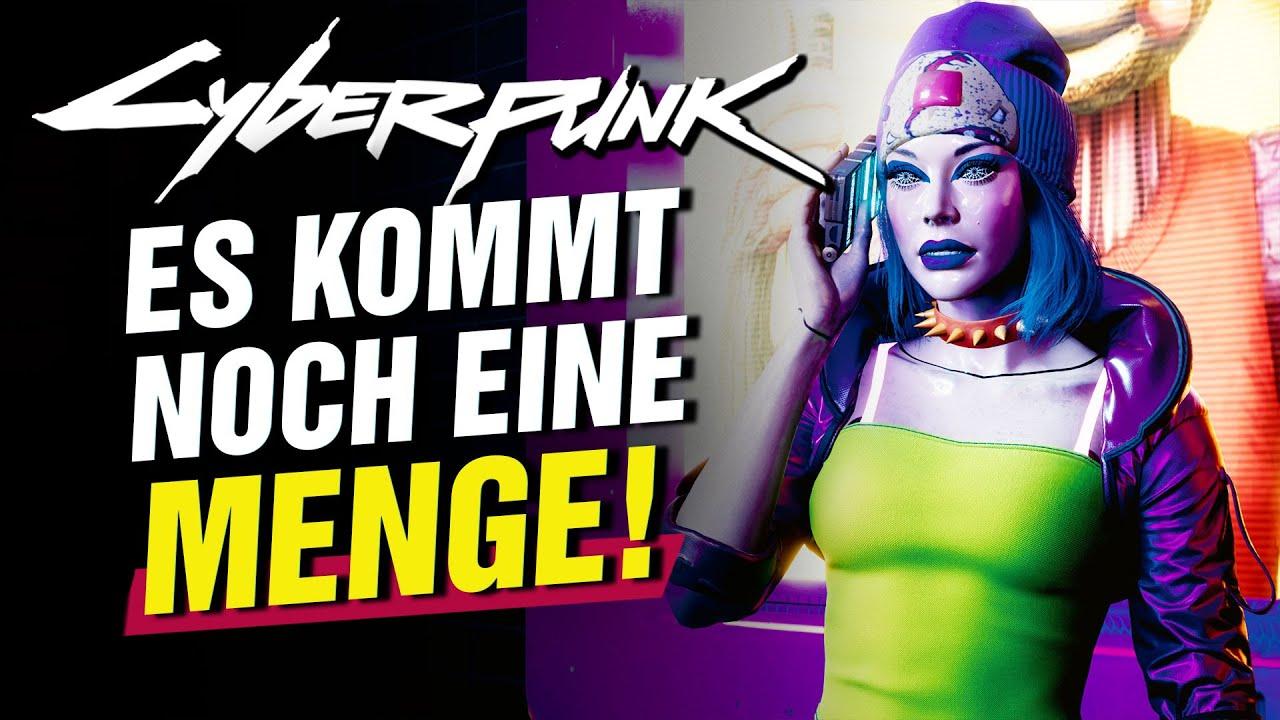 Cyberpunk 2077 steht ganz am Anfang - Das alles kommt noch!