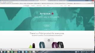 Fitbit installatie