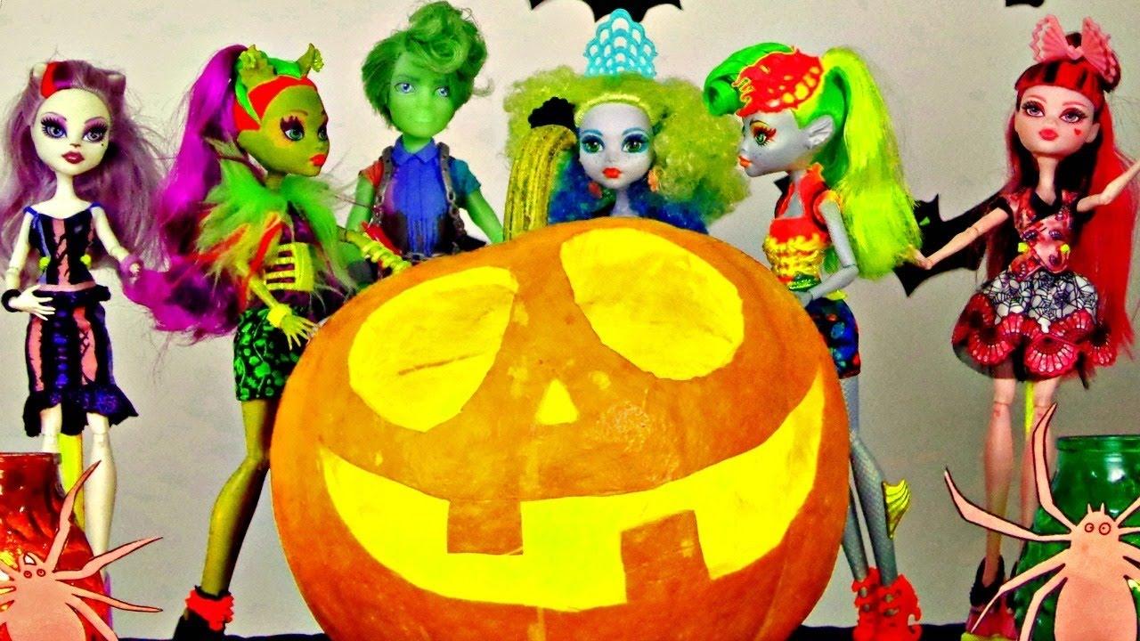 Amato Video per bambini in italiano. La festa di Halloween. Giocattoli  FO03