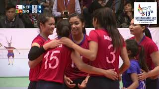 ll NEPAL VS SRILANKA WOMENS VOLLEY BALL HIGHLIGHTS ll