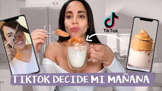 HICE MI RUTINA DE MAÑANA CON HACKS DE TIKTOK - FUNCIONAN? | What The Chic
