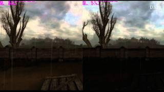 S.T.A.L.K.E.R. Clear Sky Extreme Benchmark DX9 vs DX10