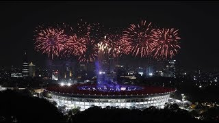 Download Video Opening Ceremony Asian Games 2018 Jakarta Palembang Live MP3 3GP MP4