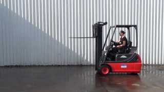 LINDE E16-02. 3 WHEEL ELECTRIC FORKLIFT TRUCK CONT SPEC