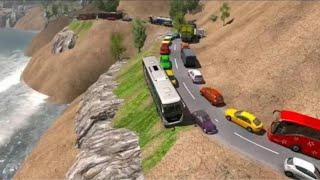 Offroad Hill Climb Bus Racing 2020 Android Gameplay screenshot 5