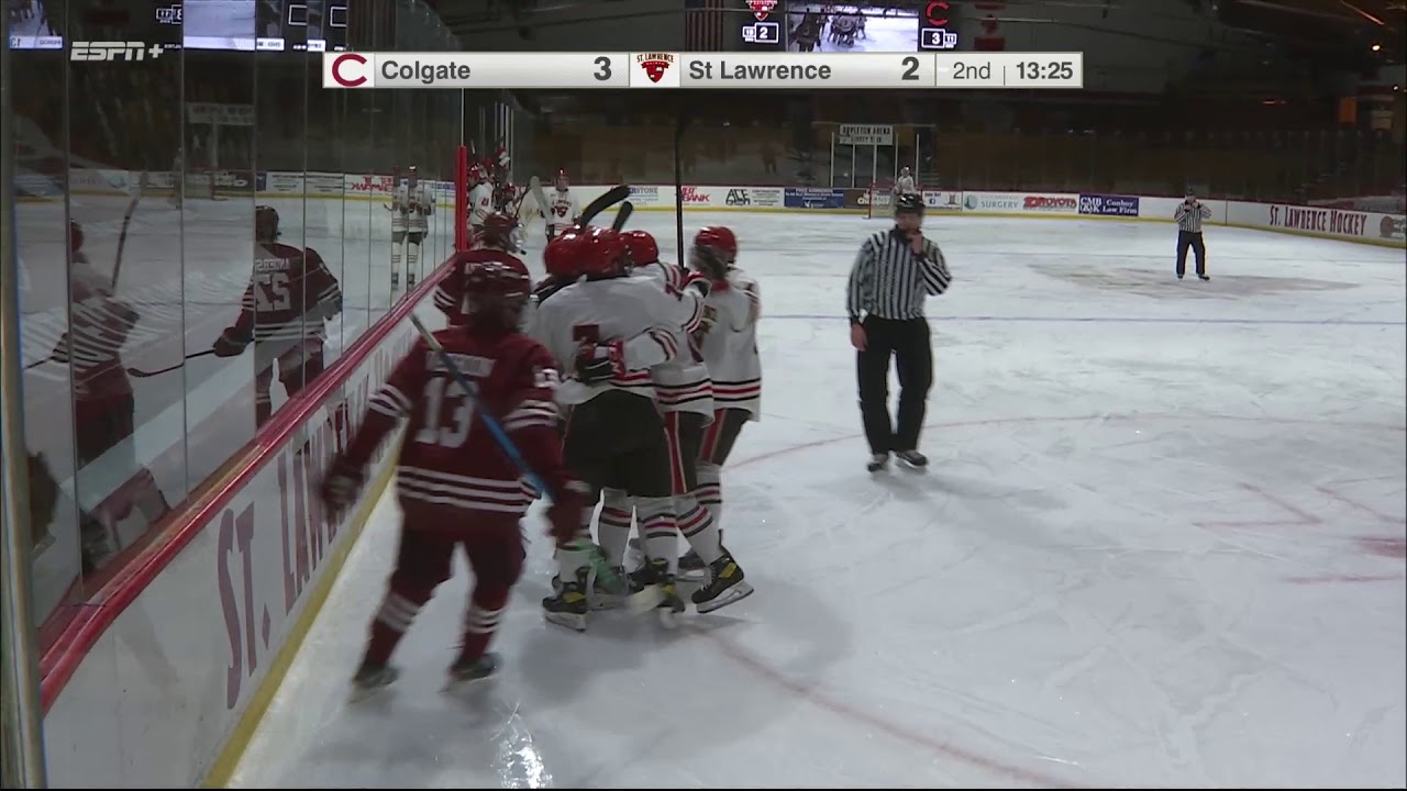 Colgate 4, St. Lawrence 3 - OT (men's hockey)