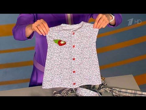 Платье для дочки из папиной рубашки. Жить здорово! (08.12.2015)