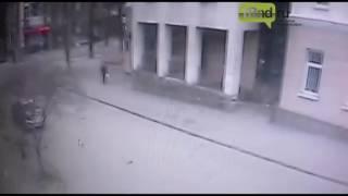 Видео с возможным организатором взрыва в Ростове