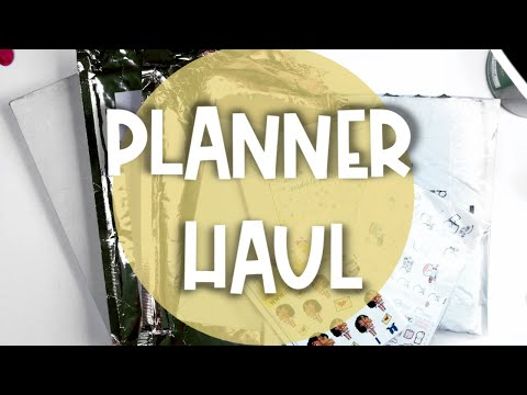 HUGE PLANNER HAUL : STICKERS AND ACCESSORIES | Scribble Prints Co, CoffeeMonsterzCo, Simply Gilded +
