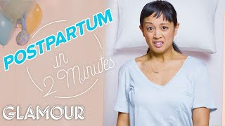 This is Your Postpartum In 2 Minutes | Glamour